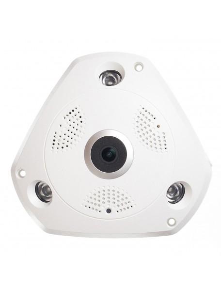 Camera supraveghere video wireless wifi aku interior 360 panoramic 960p ip 1 3mp infrarosu for Camere supraveghere exterior wireless