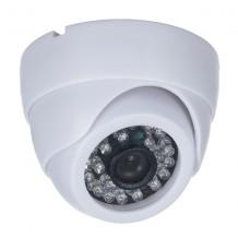 Camera supraveghere video AKU 800TVL , carcasa metalica DOME, interior exterior cu infrarosu 20m