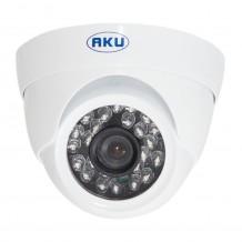 Camera supraveghere video AKU AHD SUPER HD 1.3MP DOME, interior exterior carcasa metalica cu infrarosu