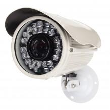Camera supraveghere video AKU 1200TVL 1280x960 pixeli, carcasa metalica GIGANT, interior exterior cu infrarosu 35m