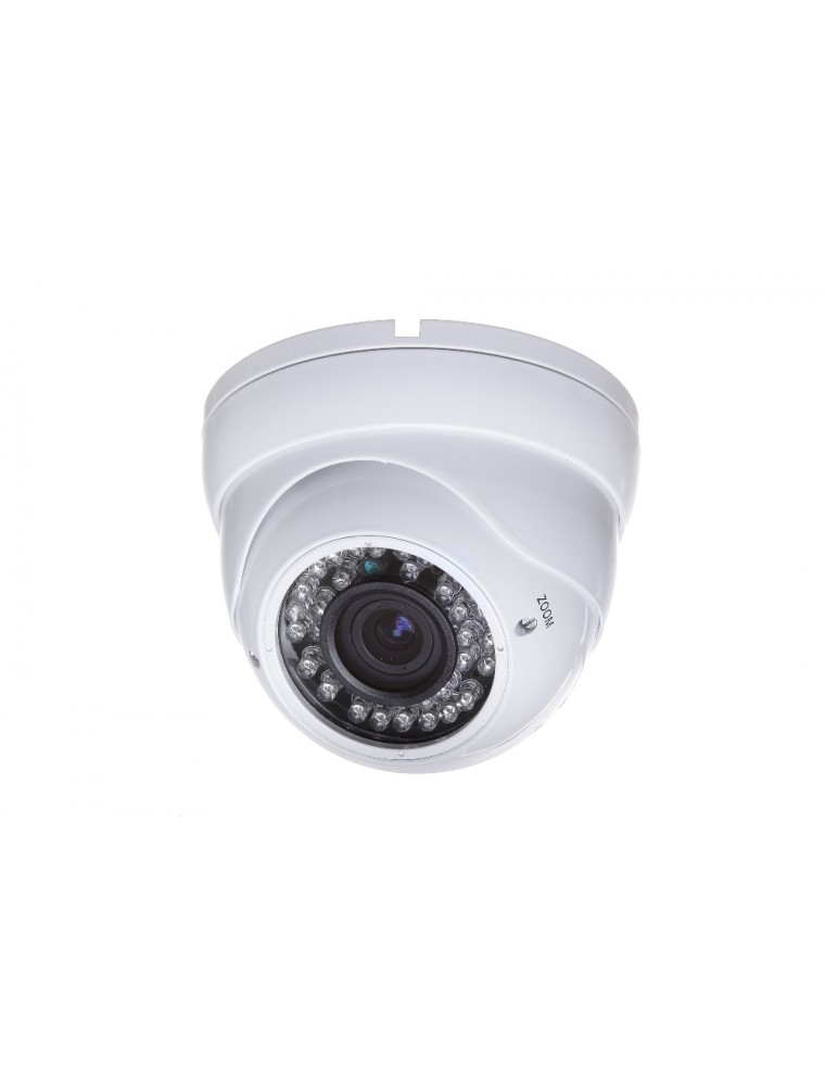 Camera Supraveghere Video Aku 800tvl Ccd Carcasa Metalica Dome Varifocal 4 9mm Interior