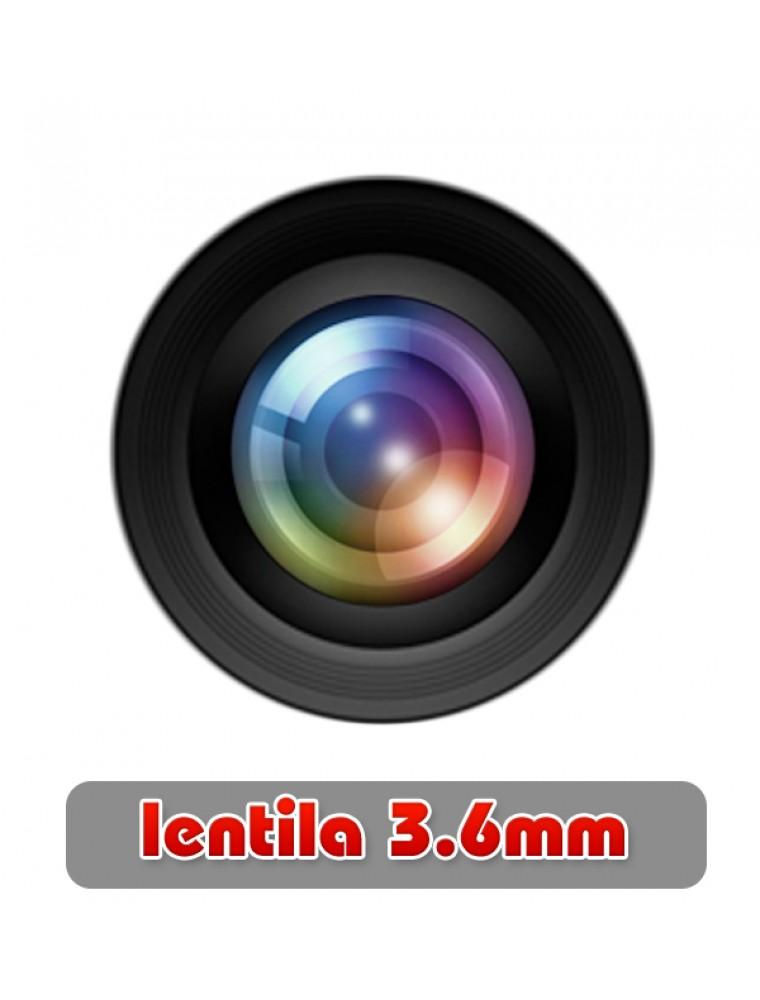 Camera Supraveghere Video Aku Interior Ccd 800 Tvl Infrarosu Ir Dome La Preturi Ieftine